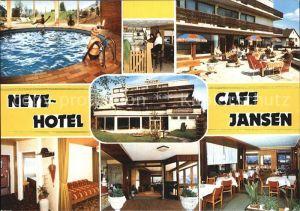 Wipperfuerth Neye Hotel Cafe Jansen Kat. Wipperfuerth