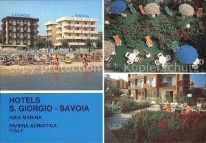 Igea Marina Hotels S. Giorgio Savoia Kat. Bellaria Igea Marina