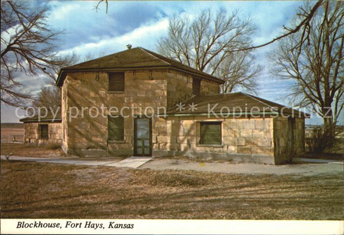 Kansas City Kansas Blockhaus Fort Hays Kat. Kansas City