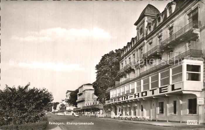 Remagen Rheinpromenade Rhein Hotel Kat. Remagen