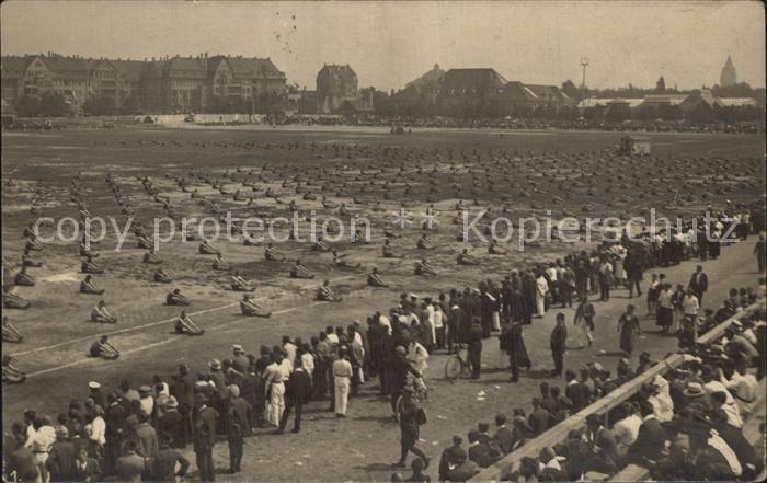 Leipzig 1. Deutsches Arbeiter Turn und Sportfest Kat. Leipzig