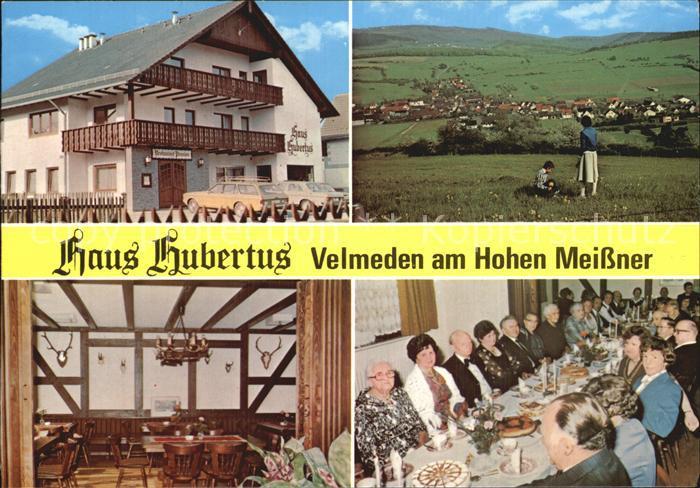 Velmeden Witzenhausen Haus Hubertus am Hohen Meissner Kat. Hessisch Lichtenau