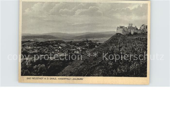 Bad Neustadt Kaiserpfalz Salzburg Kat. Bad Neustadt a.d.Saale