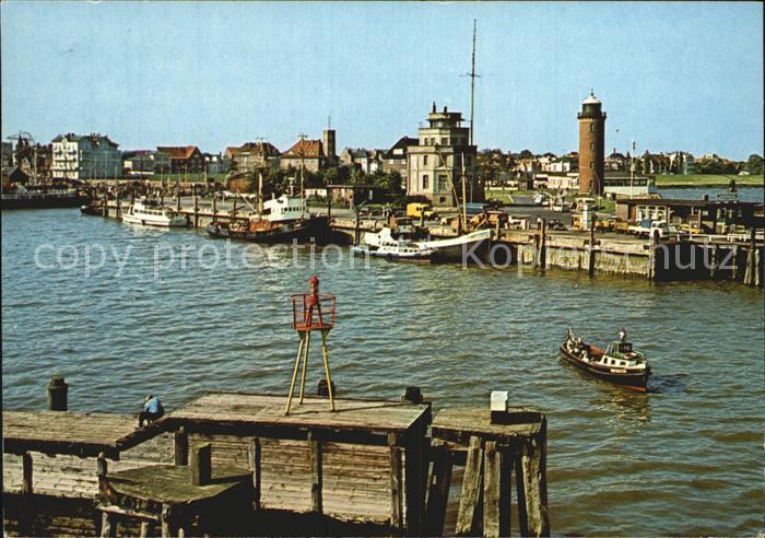 Cuxhaven Nordseebad Hafen Kat. Cuxhaven