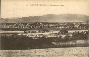 Dornach Elsass Mulhouse Panorama  Kat. Mulhouse
