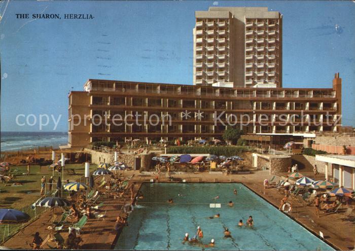 Israel Sharon Hotels Herzlia Beach Pool Kat. Israel