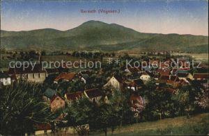 Gereuth Elsass Panorama Kat. Neubois