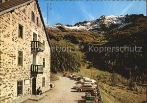 Kolm Saigurn Alpenvereinshaus Ammererhof Kat. Rauris