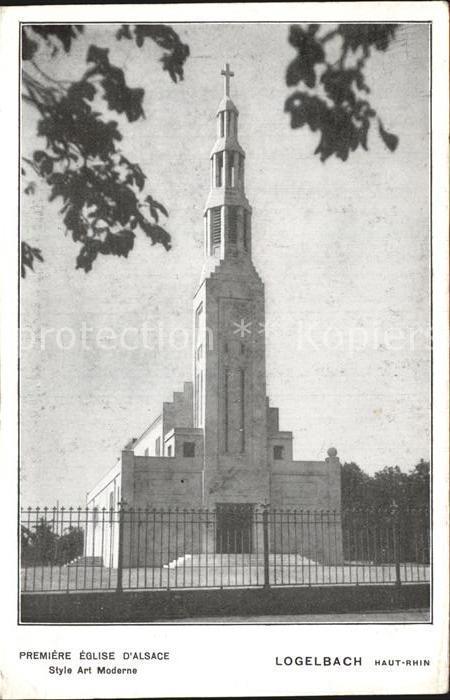 Wintzenheim Colmar Logelbach Elsaessische Kirche Moderner Stil  Kat. Wintzenheim