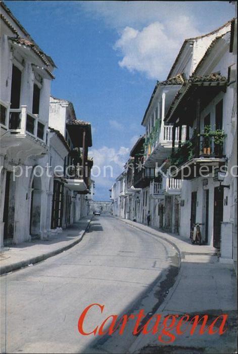 Cartagena de Indias Calle Colonial Kat. Cartagena