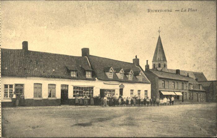 Richebourg Yvelines Richebourg Place * / Richebourg /Arrond. de Mantes-la-Jolie