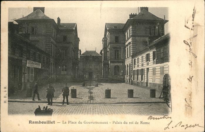 Rambouillet Place du Gouvernement / Rambouillet /Arrond. de Rambouillet