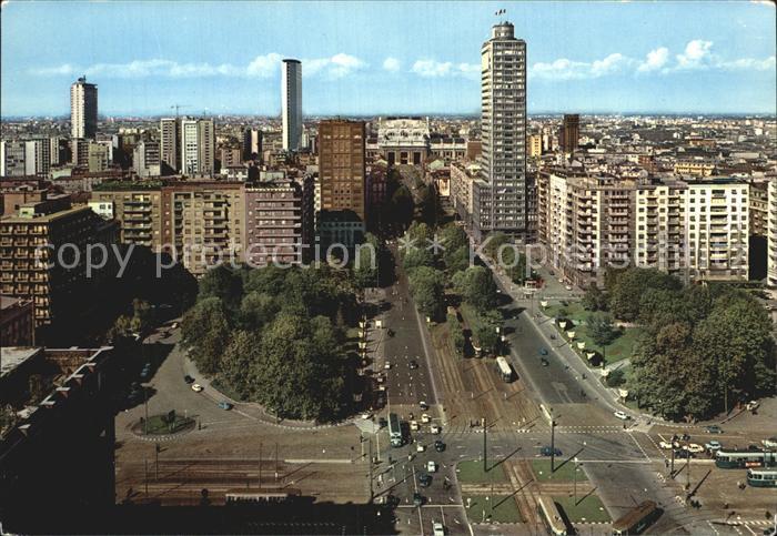 Milano Piazza della Repubblica Kat. Italien