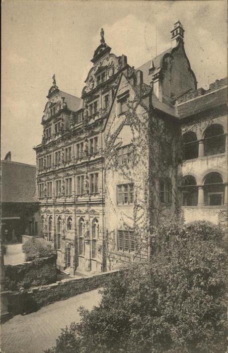 Heidelberg Neckar Friedrichsbau / Heidelberg /Heidelberg Stadtkreis