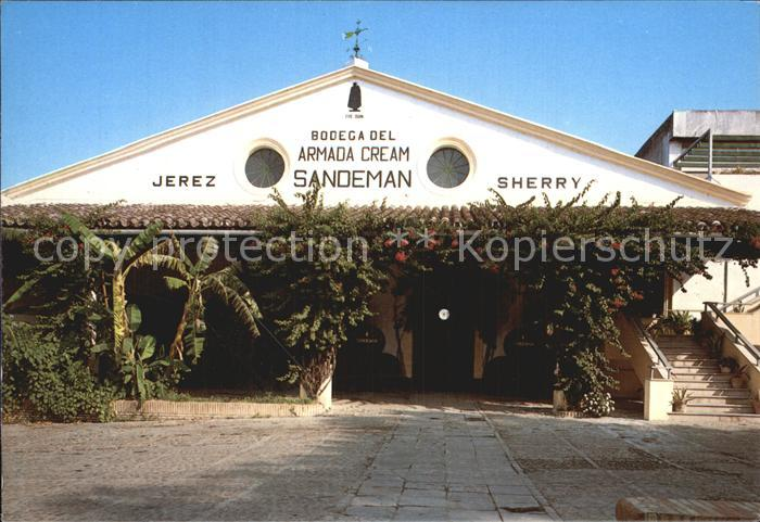 Jerez de la Frontera Sandemann Weinkellerei Kat. Jerez de la Frontera