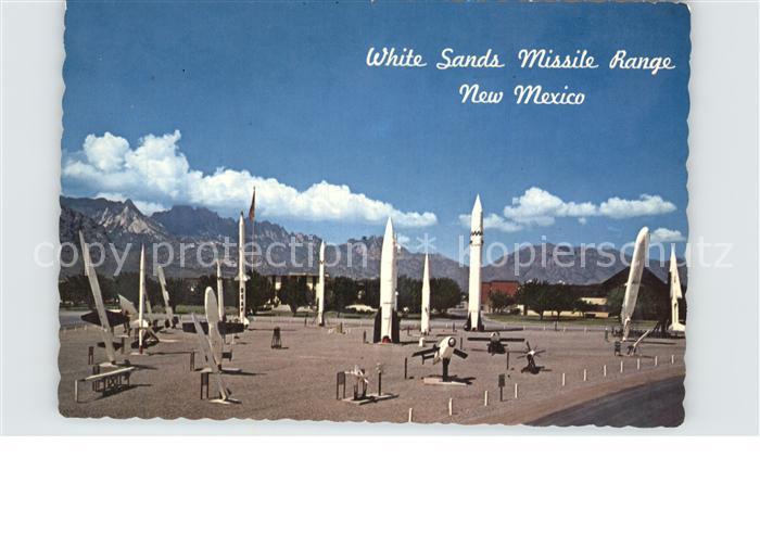 White Sands Missile Range Missile Park Kat. White Sands Missile Range