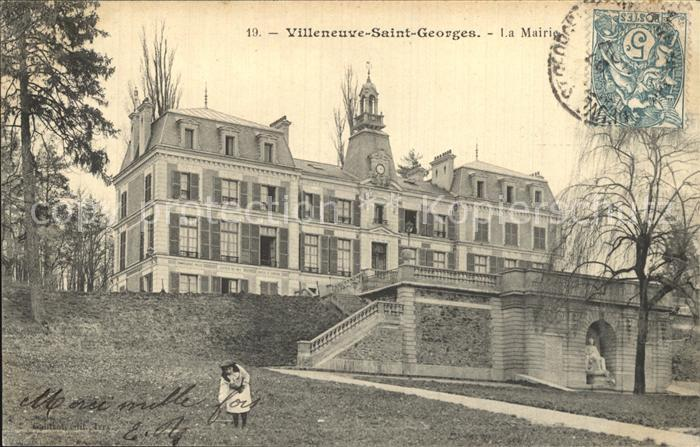 Villeneuve Saint Georges La Mairie Kat. Villeneuve Saint Georges