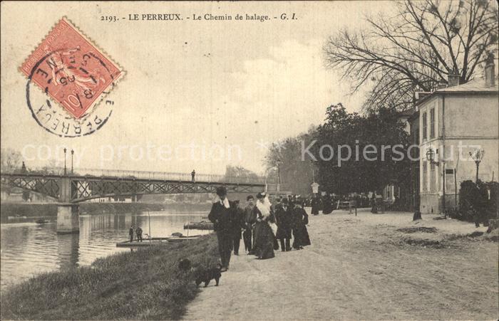 Le Perreux sur Marne Le Chemin de halage Kat. Le Perreux sur Marne