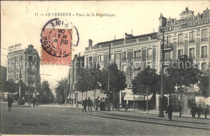 Le Perreux sur Marne Place de la Republique Kat. Le Perreux sur Marne