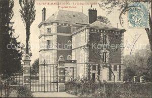 La Ferte Alais Chateau de Presles Schloss Kat. La Ferte Alais