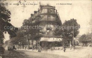Dijon Cote d Or Un coin de la Place Darcy Boulevard Sevigne Kat. Dijon