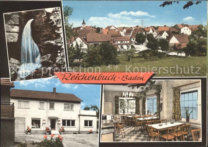 Reichenbuch Mosbach Wasserfall Speisesaal Dorf / Mosbach /Neckar-Odenwald-Kreis LKR