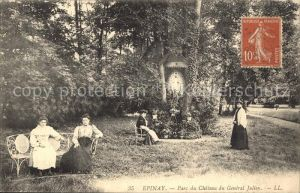 Epinay sur Seine Parc du Chateau du General Julien Kat. Epinay sur Seine