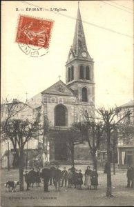 Epinay sur Seine Eglise Kirche Kat. Epinay sur Seine