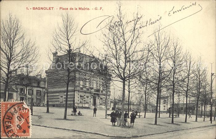 Bagnolet Place de la Mairie Kat. Bagnolet