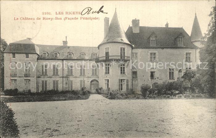 Les Riceys Chateau de Ricey Bas Facade Principale Schloss Kat. Les Riceys