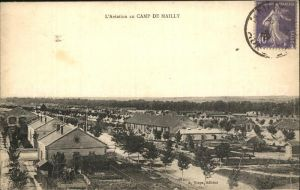 Camp de Mailly L Aviation au camp Kat. Mailly le Camp