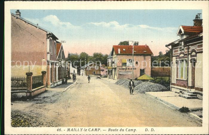Mailly le Camp Route du Camp Kat. Mailly le Camp