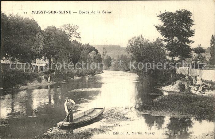 Mussy sur Seine Bords de la Seine Kat. Mussy sur Seine