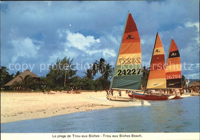 Mauritius La plage de Trou aux Biches Kat. Mauritius