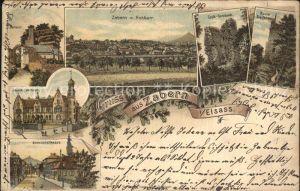 Zabern Saverne Hohbarr Bahnhofstrasse Ruine Greifenstein Gross Geroldseck
