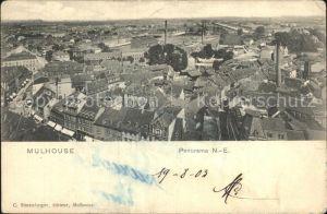 Mulhouse Muehlhausen Panorama Kat. Mulhouse