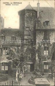 Rodez Hotel de Bonald Kat. Rodez