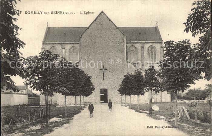 Romilly sur Seine Eglise Kirche Kat. Romilly sur Seine