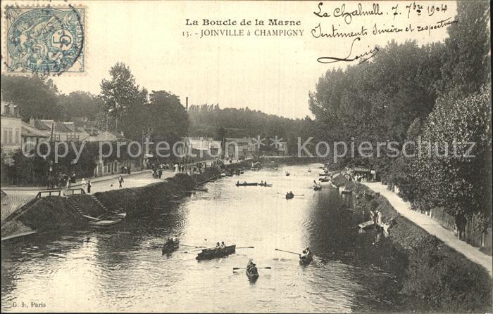 Champigny Marne Joinville La Boucle de la Marne Kat. Champigny