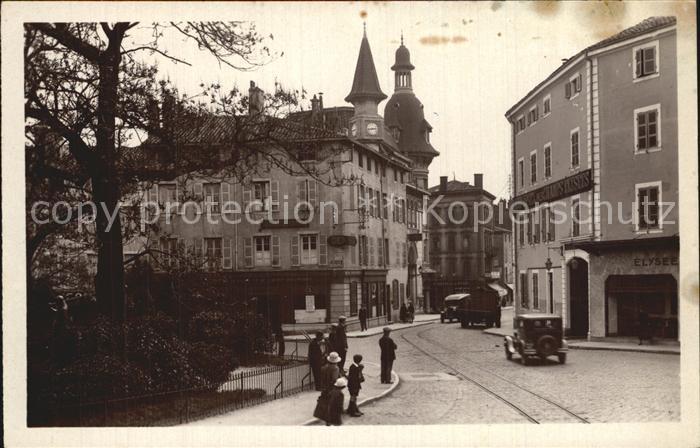 Macon Saone et Loire Place de la Barre et la Poste Kat. Macon