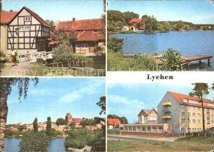 Lychen Malerwinkel Oberpfuhlsee Stadtsee FDGB Erholungsheim Bertold Brecht Kat. Lychen