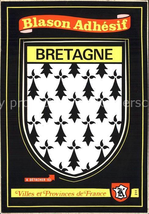 Bretagne Region Villes et Provinces de France Kat. Rennes