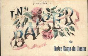 Liesse Notre Dame Un Baiser de Notre Dame de Liesse Fleurs Kat. Liesse Notre Dame