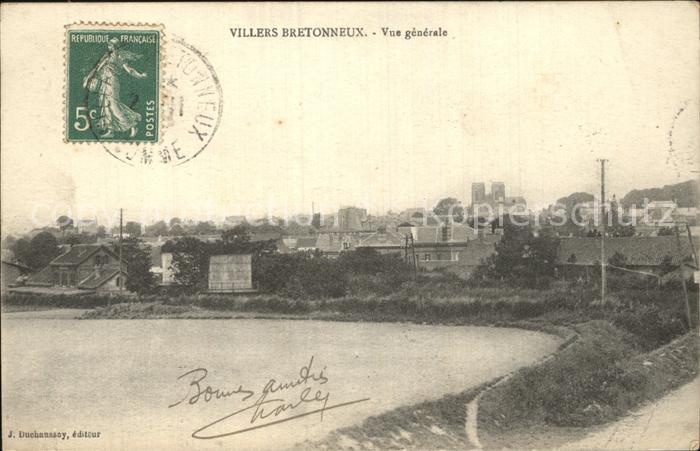 Villers Bretonneux Vue generale Kat. Villers Bretonneux