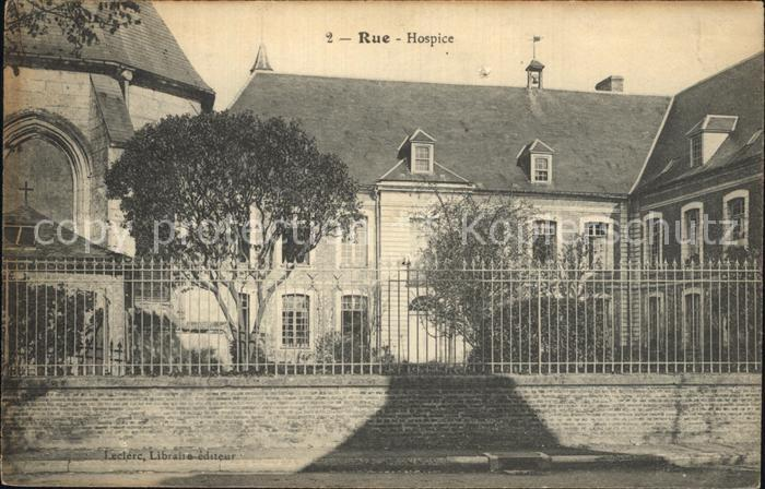 Rue Somme Hospice Kat. Rue