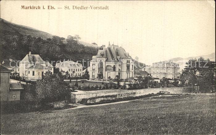 Markirch Saint Diedler Vorstadt Kat. Sainte Marie aux Mines