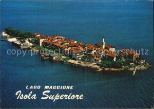 Isola Superiore Lago Maggiore Fliegeraufnahme Kat. Lago Maggiore