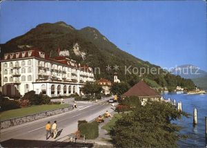 Gersau Vierwaldstaettersee Hotel Mueller Kat. Gersau