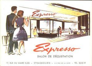 Strasbourg Alsace Expresso Salon de Degustation  Kat. Strasbourg