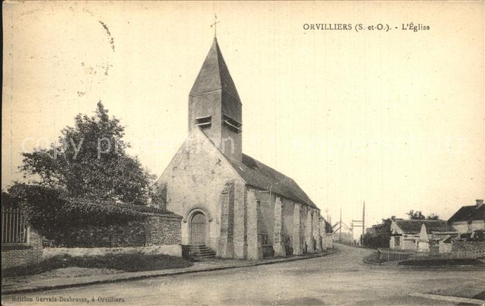 Orvilliers Eglise Kirche Kat. Orvilliers